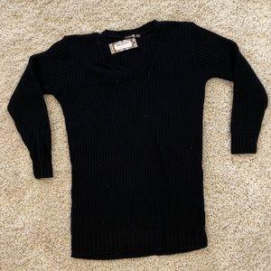 Boohoo Black Knit Dress